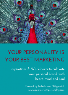 PERSONALITY IS YOUR BEST MARKETING
