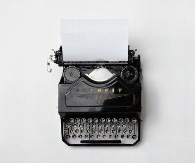 Schreibmanschine unsplash